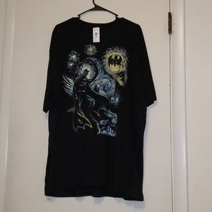 Starry night batman t shirt